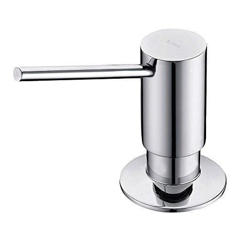 Kraus KSD-41CH Modern Soap Dispenser, Pack of 1, Chrome