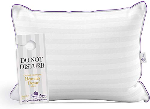 "Queen Size Pillow for Sleeping, Allergy Free Bed Pillows - Luxury Hotel Quality Pillow, Synthetic Down Alternative Hypoallergenic Pillows for Back, Stomach, and Side Sleepers (Queen Med. 20"" x 30"")"