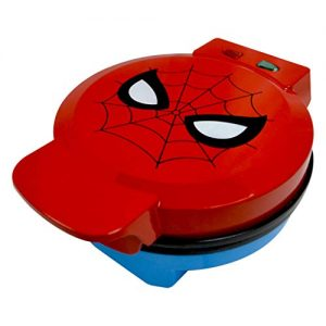 Marvel Spiderman Waffle Maker -Spidey's Mask on Your Waffles- Waffle Iron