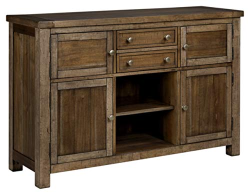 Ashley Furniture Signature Design - Moriville Dining Room Server - Grayish Brown