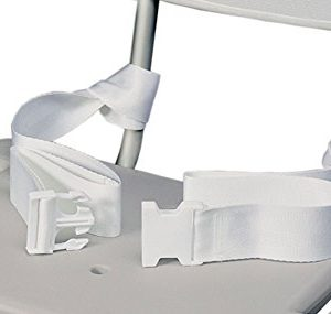 Skil-Care Corp Safety Belt for Shower Chair Bathroom Safety Accessories (Safety Belt only - Chair Not Included)