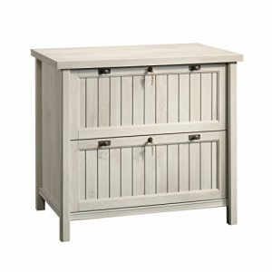 Sauder Costa Lateral File, Chalked Chestnut finish