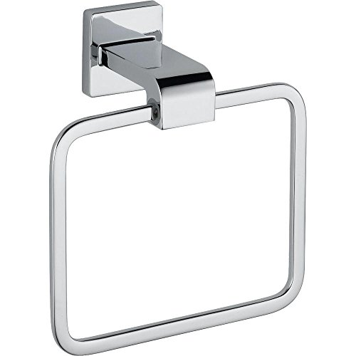 Delta Faucet 77546 Ara, Towel Ring, Chrome