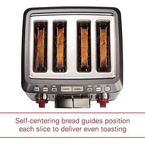 Wolf Gourmet 4-Slice Extra-Wide Slot Toaster with Shade Selector Package deal Dimensions: 12.zero x 12.2 x 8.1 inches