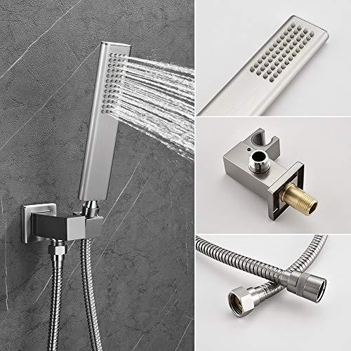 KOJOX 12 Inch Shower System Bathroom Luxury rain shower head Model: KOJOX