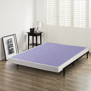 Zinus 4 Inch Low Profile Wood Box Spring / Mattress Foundation, Queen