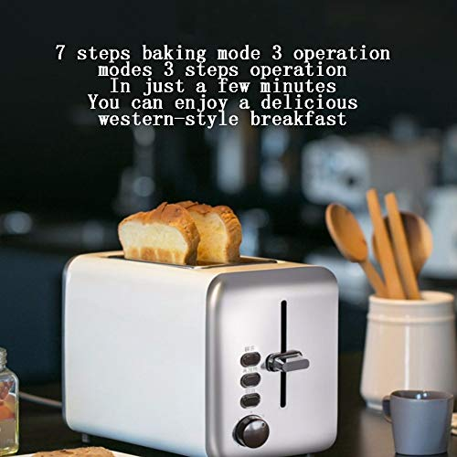 Toaster, 2 Slices Of Toaster, Stainless Steel, Extra Wide 2Slice Long Slot Toaster Toaster, 2 Slices Of Toaster, Stainless Steel, Extra Wide 2Slice Long Slot Toaster, 7 Browning Setting Warming Rack/High-Lift/Cancel/Automatic Toaster.