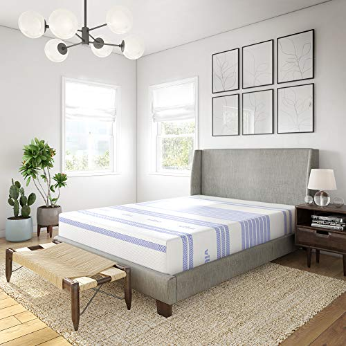 Vibe 12-Inch Gel Memory Foam Mattress   Bed in a Box, [Mattress Only], Full