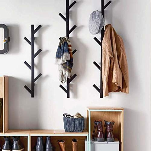 PremiumRacks Coat Rack & Hat Rack – Modern Design – Wall Mounted – Stylish – Durable
