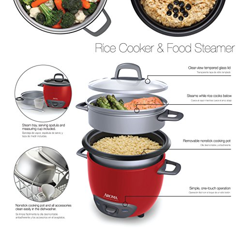 Aroma Housewares 6-Cup (Cooked) (3-Cup UNCOOKED) Pot Style Rice Cooker Launch Date: 2011-05-26T00:00:01Z