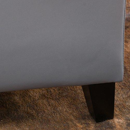 Christopher Knight Home Glouster PU Storage Ottoman Bundle Dimensions: 51.three x 17.5 x 16.three inches