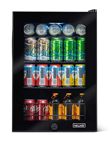 NewAir 90 Can Freestanding Beverage Fridge, Black