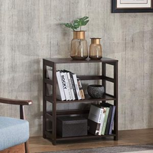 2L Lifestyle Hyder Storage Rack Wood Shelf, Small, Brown