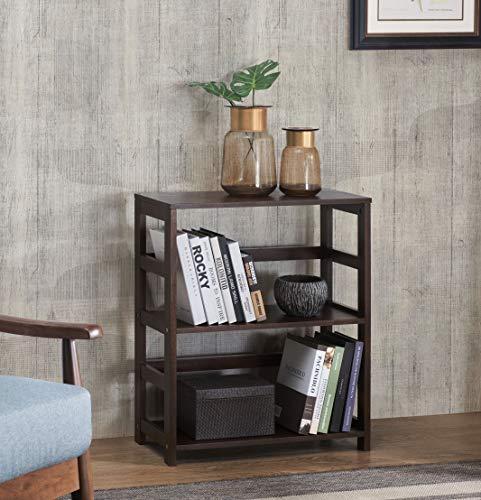 2L Lifestyle Hyder Storage Rack Wood Shelf, Small, Brown