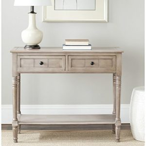 Safavieh American Homes Collection Samantha Vintage Grey 2-Drawer Console Table