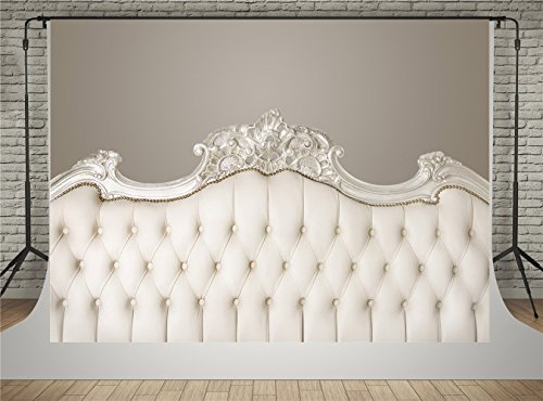 Kate Light Yellow Headboard for Bedroom Photography Backdrops Interior Background 7x5ft Fabric Material Without Wrinkles for Baby Photo Studio Shooting