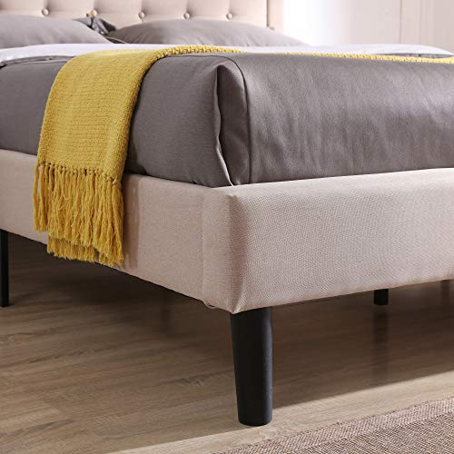 Classic Brands Mornington Queen Upholstered Headboard and Bed Frame Launch Date: 2019-09-30T00:00:01Z