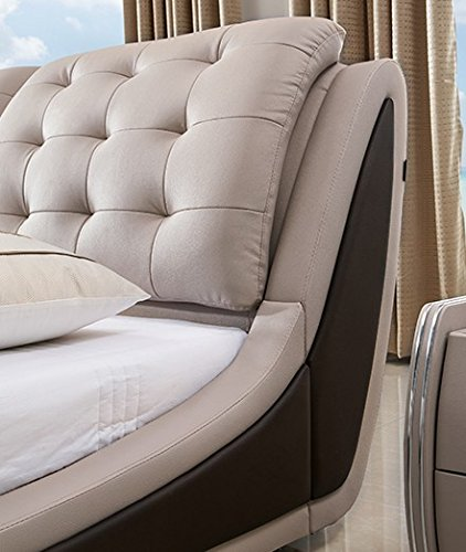 US Pride Furniture Contemporary Platform Bed, Queen Size Package deal Dimensions: 98.zero x 62.zero x 38.zero inches