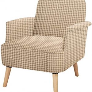 Accent Chair lauraland, Unique Prints and Durable Fabric, Solid Wood Legs and High-Density Foam, Capacity Weight ups to 350 lbs