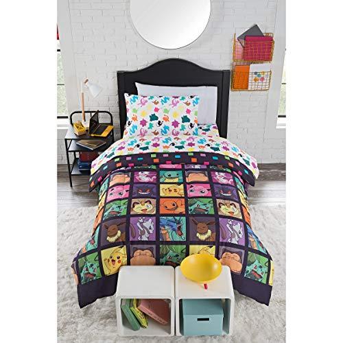 "Pokémon, ""Kanto Favorites"" Twin Bed in a Bag Set, 64"" x 86"", Multi Color"