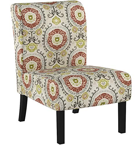 Red Hook Martina Contemporary Upholstered Armless Accent Chair Package deal Dimensions: 21.eight x 29.5 x 32.eight inches