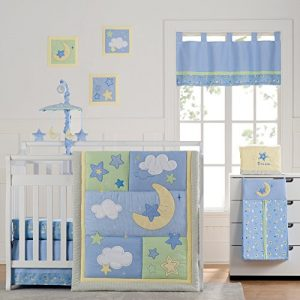 Wish I May Quintessential Cotton Quilted 10 Piece Crib Bedding Set