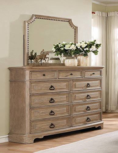 Roundhill Furniture Piraeus 296 Solid Wood Construction Bedroom Set Package deal Dimensions: 82.zero x 82.three x 65.zero inches