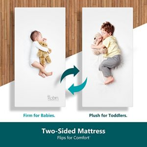 Moonlight Slumber Breathable Dual Sided Baby Crib Mattress.