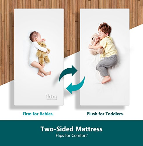 Moonlight Slumber Breathable Dual Sided Baby Crib Mattress.