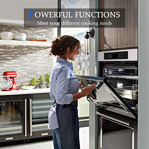 "Single Wall Oven, GASLAND Chef 24"" Built-in Electric Ovens Package deal Dimensions: 23.5 x 23.5 x 22.5 inches"