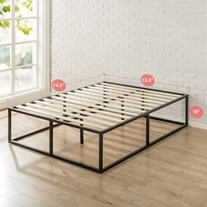 Zinus Joseph Metal Platforma Bed Frame, 18-Inches - Full