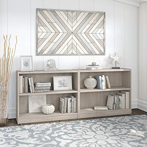 Bush Furniture Universal 2 Shelf Bookcase Set of 2 Guarantee: 1 12 months.