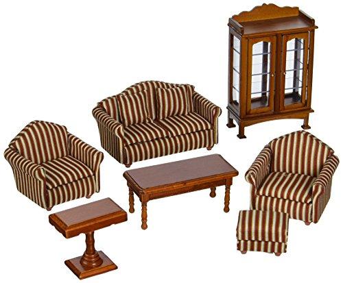 Melissa and Doug Doll-House Furniture- Living Room Set