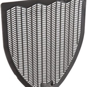 "Impact Products 1525-5 Non-Skid Disposable Urinal Floor Mat, 17-1/2"" Width x 20-3/8"" Length, Black (Pack of 6)"