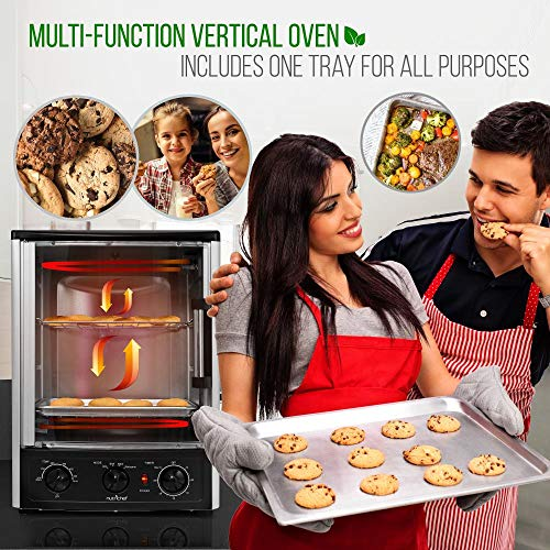 Nutrichef Upgraded Multi-Function Rotisserie Oven - Vertical Countertop Oven Launch Date: 2018-01-25T00:00:01Z