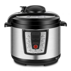 REDMOND Electric Pressure Cooker, 5 Quart Multicooker, 6-in-1 Multi-functional Programmable for Slow Cooker, Rice Cooker, Saute,Steamer, Warmer, Stainless Steel Inner Pot, PM4506A