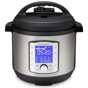 Instant Pot Duo Evo Plus 9-in-1 Electric Pressure Cooker, Sterilizer, Slow Cooker, Rice Cooker, Grain Maker, Steamer, Sauté, Yogurt Maker, Sous Vide, Bake, and Warmer, 8 Quart, 10 Programs