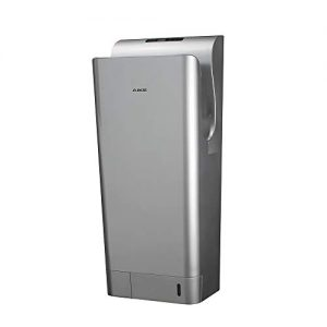 AIKE AK2030,1850W Premium Commercial Jet Hand Dryer,ABS Double-Sided(Silver)