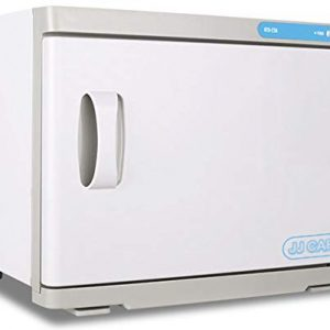 JJ CARE [Premium] UV Towel Warmer Sterilizer 23L Capacity, 2-in-1 Spa Hot Towel Warmer with UV Sterilizer, Hot Towel Cabinet for 30-40 Small Facial Towels, UV Towel Sterilizer for Salon, Barber Shops