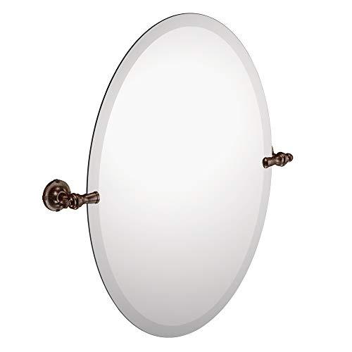 Moen DN0892ORB Gilcrest 26-Inch x 23-Inch Frameless Pivoting Bathroom Tilting Mirror, Oil Rubbed Bronze