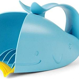 Skip Hop Moby Bath Rinse Cup: Tear-free Waterfall Rinser, Blue