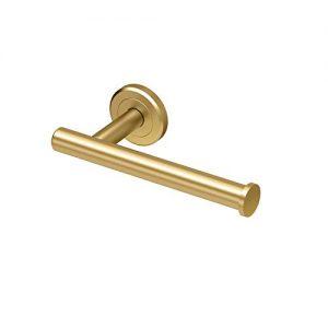 Gatco 4233 Latitude II European Toilet Tissue Holder, Brushed Brass