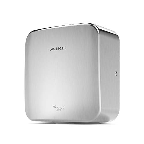 AIKE AK2800C Heavy Duty Automatic Commercial Hand Dryer Brushed Stainless Steel