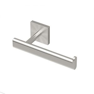 Gatco 4073 Elevate Euro Tissue Holder, Satin Nickel