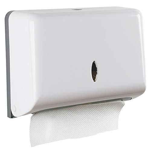 AIFUSI Paper Towel Dispensers,Commercial Toilet Tissue Dispensers Wall Mount Paper Towel Holder C-Fold/Multifold Paper Towel Dispenser for Bathroom, Kitchen(White)