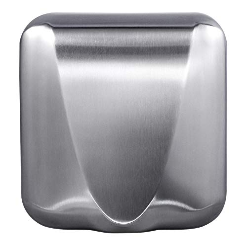 VALENS Electric Hand Dryer with HEPA Filter, Efficiency Max Touchless Hand Dryer for Bathrooms Commercial Home Industrial, High-Speed Automatic Hand Air Dryer Machine for Restrooms, Stainless Steel