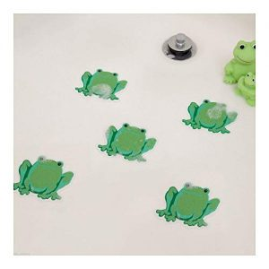 Bathtub Shower Stickers - Safety Decals Treads Non Slip Frogs Applique Anti-Skid