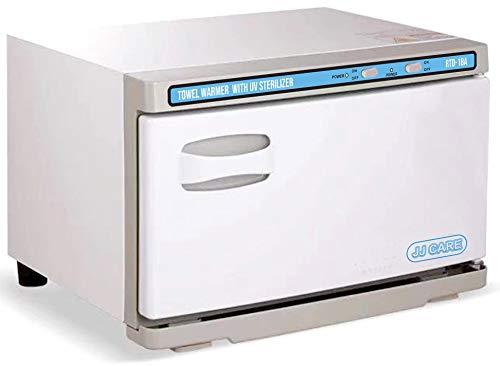JJ CARE [Premium] UV Towel Warmer Sterilizer 18L Capacity, 2-in-1 Spa Hot Towel Warmer with UV Sterilizer, Hot Towel Cabinet for 20-30 Small Facial Towels, UV Towel Sterilizer for Salon, Barber Shops