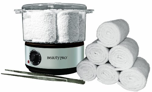 Beauty Pro Hot Towel Warmer - Steamer Kit NEW