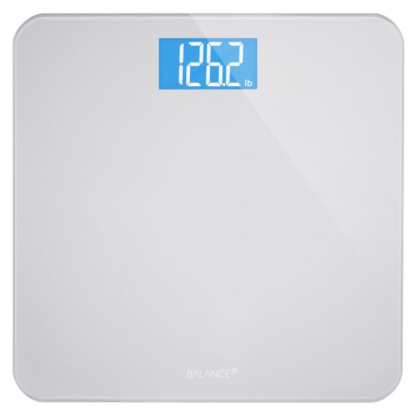 Greater Goods Digital Body Weight Bathroom Scale by GreaterGoods, New, Silver